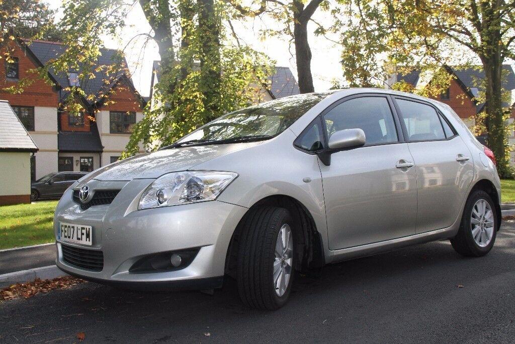 Toyota Auris 2007 1.6 Petrol, long MOT,70K ( low mileage)