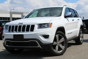 2015 Jeep Grand Cherokee LIMITED 4X4*CUIR/TOIT/NAV/MAGS 20P*