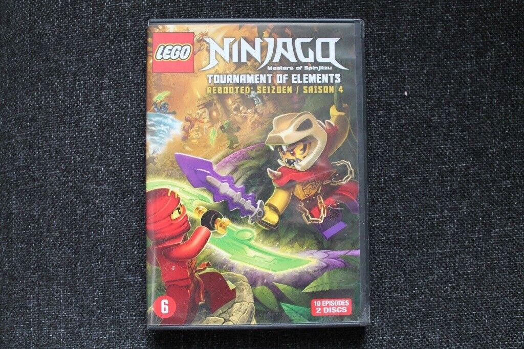 Lego Ninjago Masters of Spinjitzu Tournament of Elements Rebooted Season 4  DVD | in Christchurch, Dorset | Gumtree