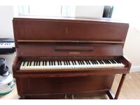 KEMBLE Upright Grand Piano with Piano Seat