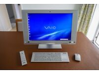 Sony Vaio VGC-LV1S All in One PC 24 inch widescreen in Immaculate Condition