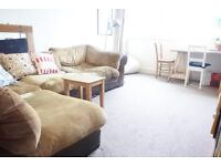 Newly decorated and large two double bedroom property