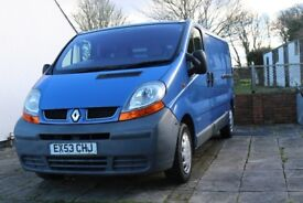 Renault Trafic Van, Long Wheel Base, Low Mileage, 10 Months MOT