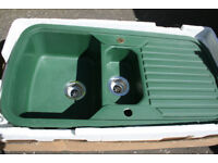 Kitchen Sink - Reduced Price for quick sale! - Granite Green