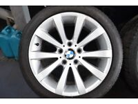 BMW 17 INCH ALLOYS AND TYRES ,225/45/17