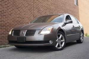2004 Nissan Maxima SE, Leather, Sunroof, Alloy, Heated Seat