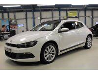 VW Scirocco GT TDI BLUEMOTION TECHNOLOGY DSG [NAV / PANO ROOF / DAB RADIO] (bright white) 2013