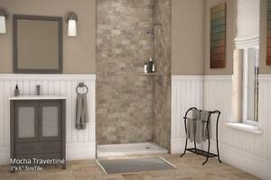 Up to 60 x 36 - Tub and Shower Surround System