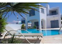 Luxury Wedding and Getaway 6 bedrooms beach villa, Paphos, Cyprus,