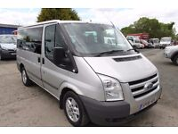 FORD TRANSIT TOURNEO GLX110 9 SEAT MINI BUS – 08-REG