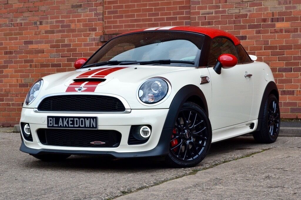 Finance From 163 64 Week Mini Coupe John Cooper Works Sat Nav Chili Pack Pepper White In