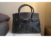 Malai real snakeskin handbag - brand new