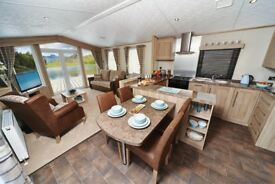 Brand New Carnaby Helmsley Lodge for sale at Percy Wood Country Park near Alnwick, Northumberland