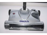 GTECH CORDLESS RECHARGEABLE VACUUM CLEANER WITH SPINNING BRUSH HEAD, XMAS GIFT, ONLY USED TWICE