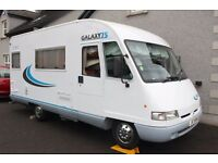 2000 Pilote 75 5 berth Motorhome - low mileage - excellent condition