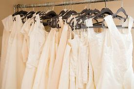 Bridalwear boutique stock