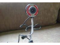 webcam plug in.