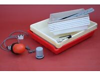 Developing trays 10 x 8, 12 x16, plus safelight