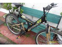 harlem unisex full suspension mountain bike