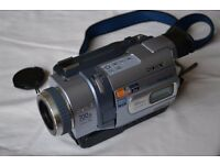 "Sony Handycam DCR-TRV238E - Digital 8 Camcorder - 2.5"" Colour LCD Monitor - As new condition"