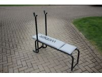 Weider weights bench / home gym / exercise bench / bench press