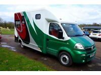 3.5 TON HORSEBOX 2008 VAUXHALL MOVANO BRAND NEW CONVERSION
