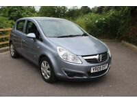 FROM £20 PER WEEK VAUXHALL CORSA 5DR HATCHBACK 1.3 DIESEL MANUAL BLUE GREAT ECONOMICAL CAR £20 TAX