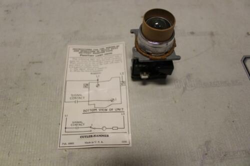 CUTLER HAMMER 10250T Pres-Test 30 Volt Indicator Light Module 10250X577.5
