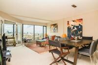Fully furnished condo, great view downtown
