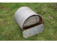 Stainless steel water bucket for ducks/hens