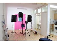 Photography/Film/Video studio - £30 for 2hrs - London E1