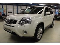 Nissan X-Trail TEKNA DCI [SAT NAV / PANO ROOF / LEATHER] (bright white) 2014