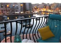 ST JULIANS MALTA SEAVIEW 1 BEDROOMED APARTMENT - HOLIDAY IN CENTRAL MALTA