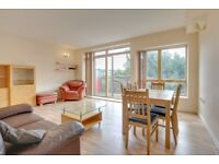 Beautiful two bedroom with balcony,24hr porter,Secure parking in Faraday Lodge, Renaissance Walk