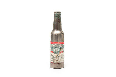 Vintage BUDWEISER LAGER BEER Advertising BOTTLE Shape CIGARETTE LIGHTER