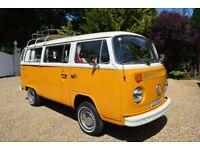 VW Camper Van Type 2 Bay Window 1976 (Californian Import Registered 11th August 1976)