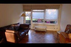 2 bed sunny ground floor garden flat N2 next to tube: available November 4