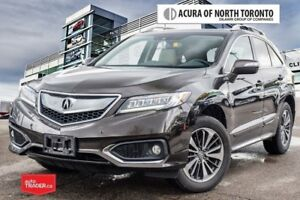 2016 Acura RDX Elite at 7yrs/130,000KM Acura Warranty Included