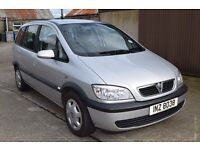 2005 Vauxhall Zafira 2.0 Litre 103,000 Miles Full year MOT (as of 30/07/16) £1750 ono
