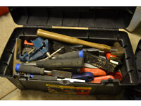 Toolbox of joiners tools.