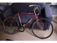 Boland By Raleigh Made In England Vintage Red Bike Spares / Repairs Bicycle
