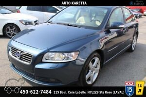 2011 Volvo S40 S40 T5 LVL2/TOIT/CUIR/BLUETOOTH/CLIMATISATION