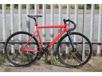 Trek track bicycle 54 fixie singlespeed shimano sram alpina navigator leader new used