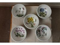 Portmeirion Botanic Garden Plates and Bowls