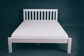 New solid beds double, kingsize. Closing down sale. Free delivery in Bournemouth
