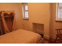 Double bedroom fully furnished in a ground floor flat sharing with one other person