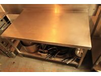 Commercial Stainless Steel table for bakery