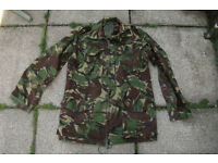Vintage British Army 1990 Issue DPM Temperate Combat Jacket size 180/104 (Large)