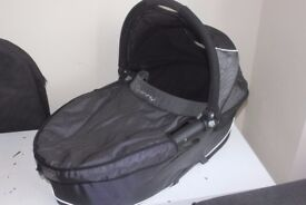 Quinny Buzz Dreami Carrycot Carry Cot Travel Cot with Raincover