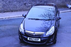 FOR SALE Black on Black Vauxhall Corsa Limited Edition 1.2 Petrol